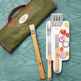 Personalised Barbecue Tools Gift Set - garden