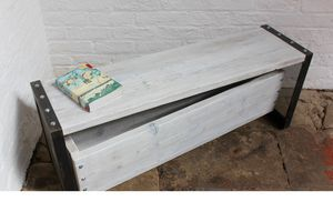 Finizio Reclaimed Board Low Bench - kitchen
