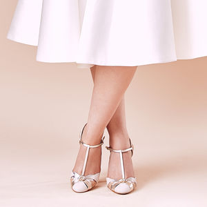 Wedding Shoes Emmeline Blush Ivory - women's fashion