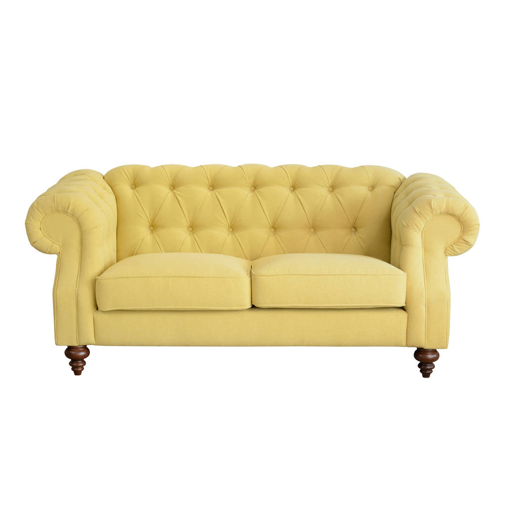 Sumptuous Button Back Two Seater Sofa