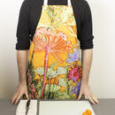 Bright Cooking And Baking Apron, Kitchen Accessory