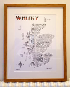 Whisky Word Map