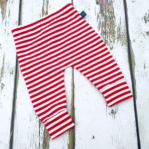 Candy Cane Baby Leggings, Christmas Leggings