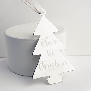 Baby's First Christmas Decoration - gifts for babies & children