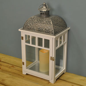 Empire Battery Operated Candle Lantern 52cm - lights & lanterns