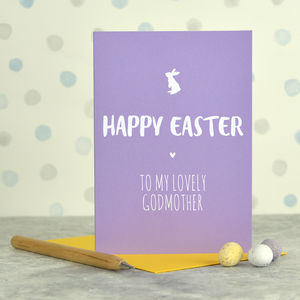 Godmother Easter Card - cards & wrap