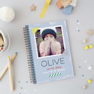 Personalised Kids Diary - books