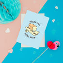Bread Til We're Dead Greetings Card