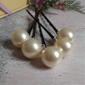 Bliss Large Pearl Bridal Hair Pins - bridal hairpieces