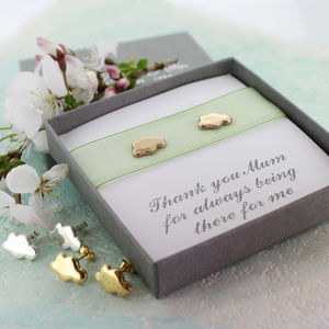 Every Cloud Personalised Stud Earrings - earrings