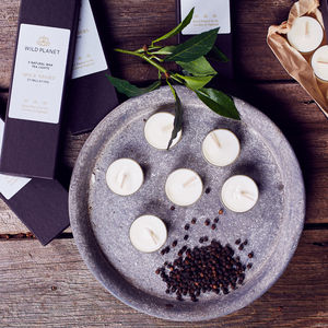 Mood Boost Box Of Five Luxury Aromatherapy Tea Lights - whatsnew