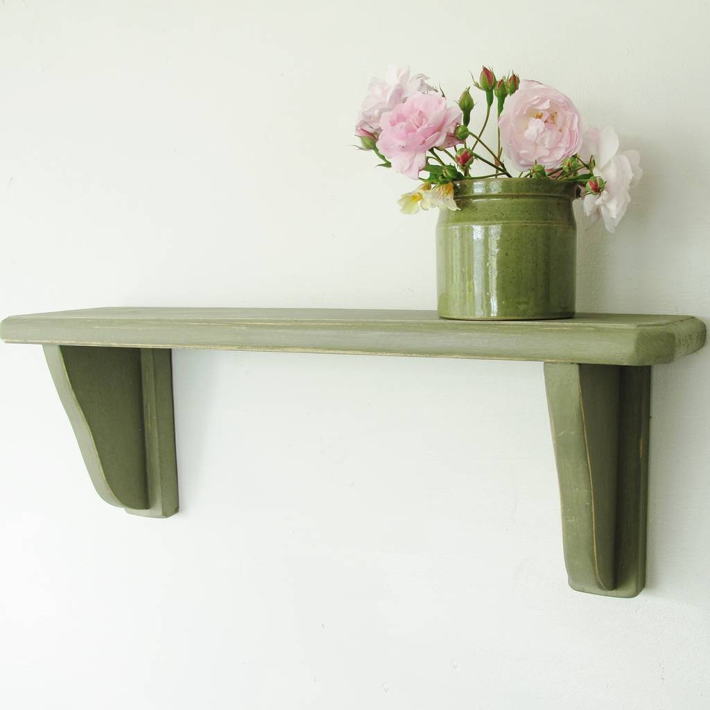 Vintage kitchen painted wall shelf by seagirl and magpie vintage kitchen painted wall shelf amipublicfo Gallery