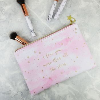 Personalised 'I Love You' Pouch