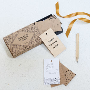 Personalised 'You Are An Amazing…' Tiny Tag Book - token gifts