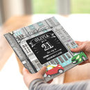 Personalised 21 St Birthday Book 'Memory Lane'