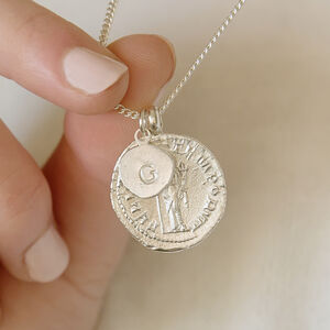 Personalised Initial Goddess Necklace