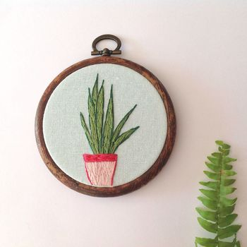 Pot Plant Wall Hanging