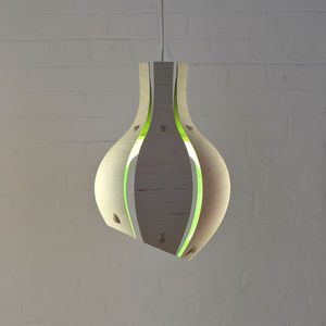 Shallot Inspired Colour Pendant Light