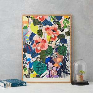 Hockney Vase Print - what's new