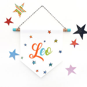 Personalised Name Wall Hanging - wall hangings for children