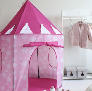 Pink Cloud Tent - toys & games