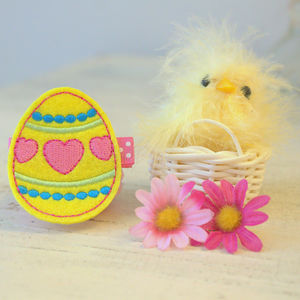Easter Egg Hairclip - hair accessories
