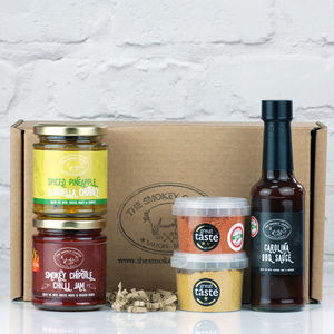 Award Winners Sauce And Spice Box Gift Set - spice-lover gifts