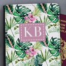 Personalised Tropical Passport Cover
