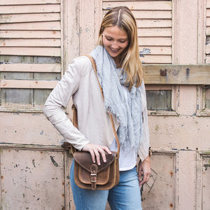 Leather Saddle Bag - must have bags