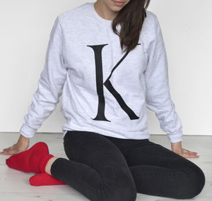 Alphabet Jumper - women's fashion