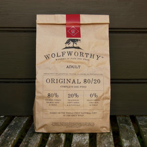 Wolfworthy Natural Fine Food For Dogs - dogs