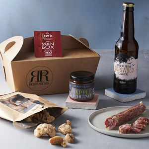 Man Box Food Gift - wines, beers & spirits