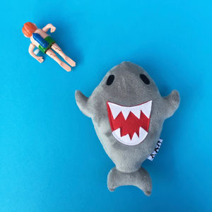 Baby Shark Handmade Soft Toy With Squeaker