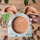 Personalised Eco Friendly Wooden Rabbit Plate
