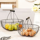 Set Of Two Chickenwire Home Storage Trugs