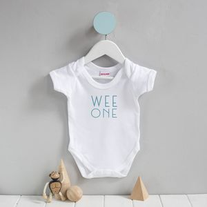 Scottish Babygrow 'Wee One'