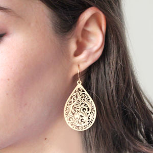 Paisley Earrings - earrings