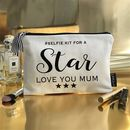 Personalised Bridal Luxury Clutch Style Make Up Bag
