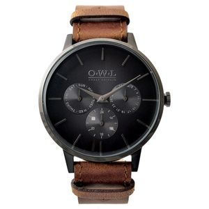 Gents Pembrey Watch From British Brand O.W.L - personalised accessories