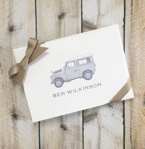 Land Rover Defender Folded Cards Set Of 10