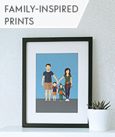 family inspired prints