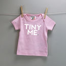 Tiny Me Or Mini Me Baby And Kid's T Shirt