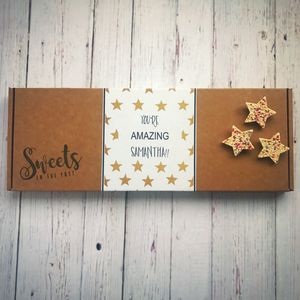 'You're Amazing' Letterbox Sweets Gift Box