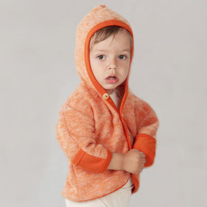 Organic Merino Wool Fleece Baby Coat