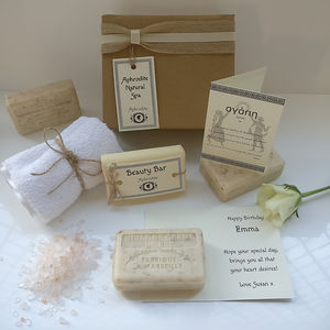 Personalised 'Love' Mini Spa Gift Set - what's new