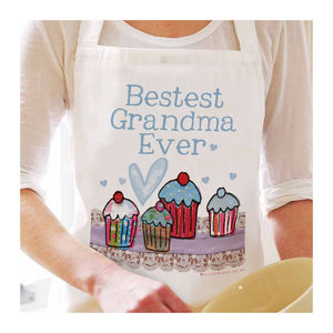 Personalised Bestest Grandma Ever Apron