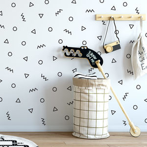 Contemporary Shapes Feature Wall Sticker Set - what's new