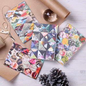 Patchwork Pocket Notebook Journal - notebooks & journals