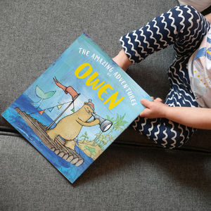 Personalised Child's Adventure Book - for little adventurers