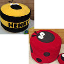 Bumble Bee and Dotty Ladybird Bean Bag